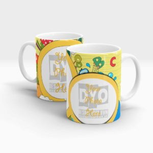 ABC Custom Gift Mug For Kids
