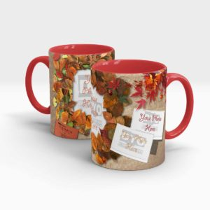 Autumn Leafs Customized Mug