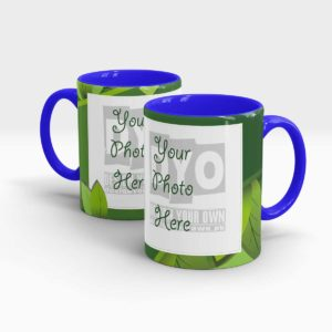 Leaf Green Custom Mug