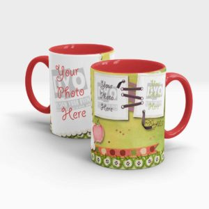 Memoirs Personalized Photo Mug