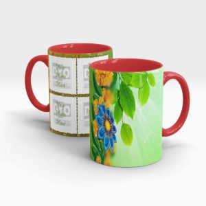 Special Green Series Customized Gift Mug