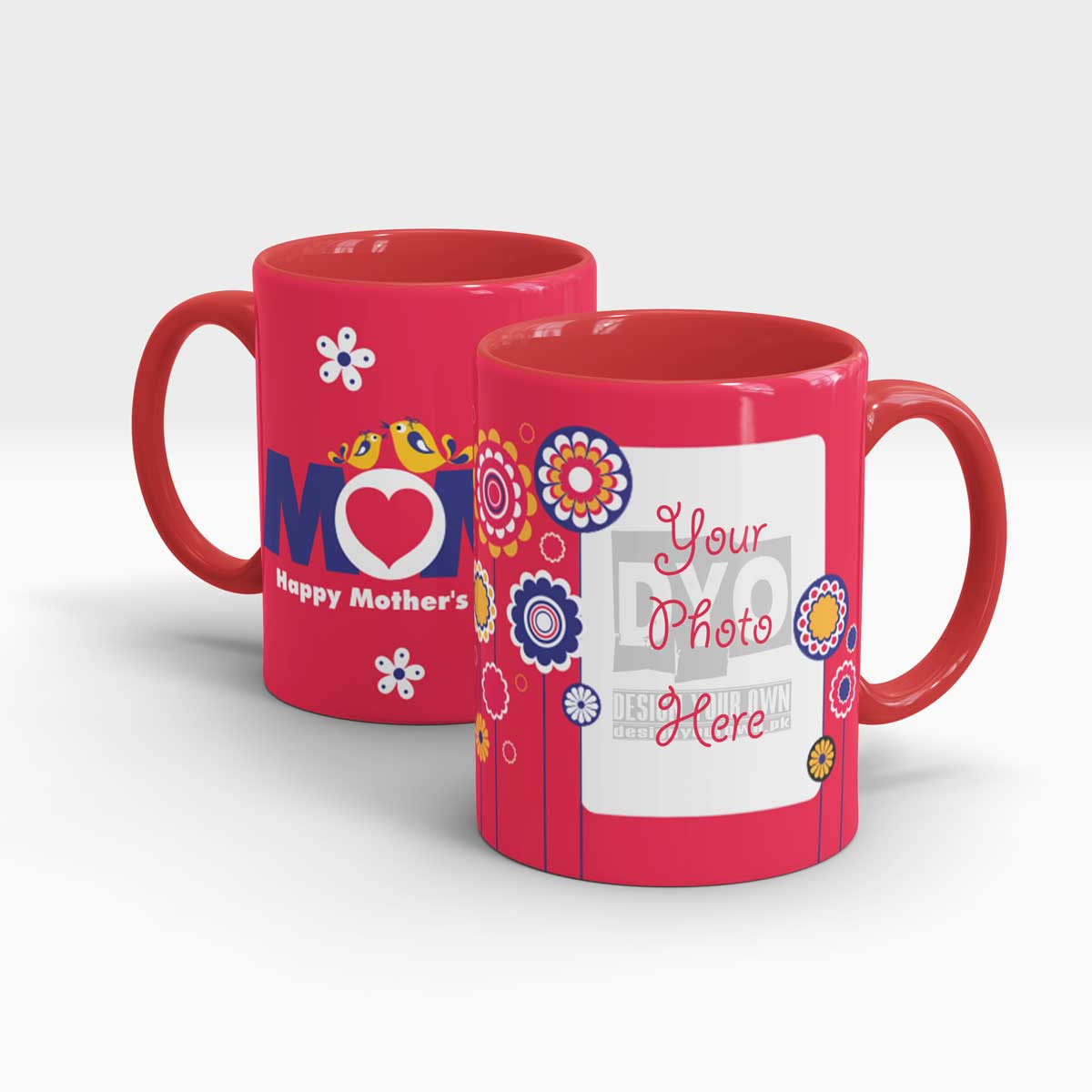 Love mom mothers day gift mug for moms design your own mothers day personalized gift mug negle Images