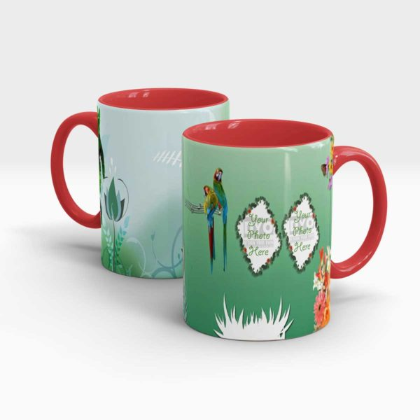 Nature Inspired Custom Printed Gift Mug