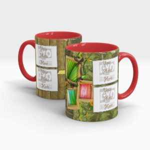 Custom Printed Coffee Mug for Coffee Lovers