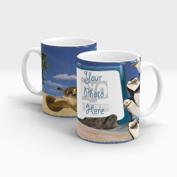 Penguins of Madagascar Personalized Mug for Kids