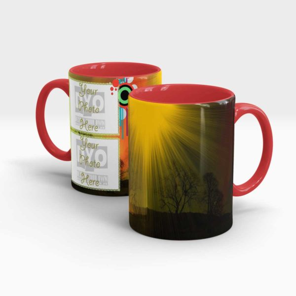 Sunshine Series Custom Printed Gift Mug