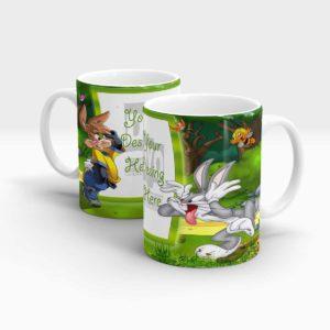 Bugs Bunny Personalized Gift Mug for Kids