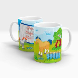 Custom Printed Fun Mug for Kids