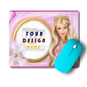 Barbie Queen Gift Mouse Pad For Here