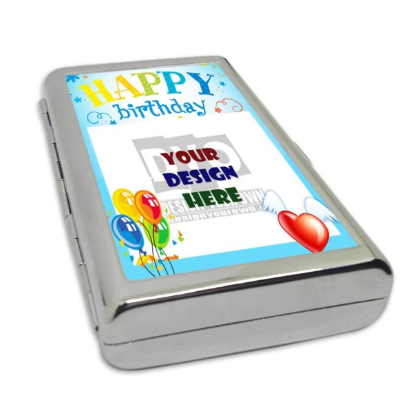 Best Birthday Gift - Personalized Cigarette/Card Case