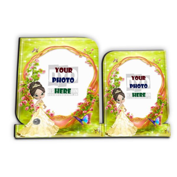 Custom Printed Wooden Photo Frame For Her
