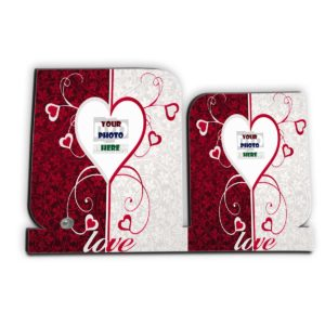 Love Wooden Sheet Personalized Photo Frame