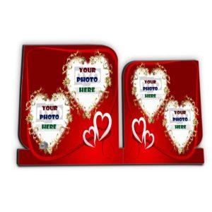 Love Gift Wooden Photo Frame