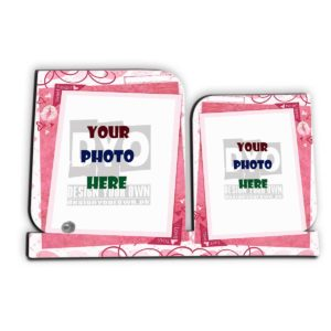 Love You Customized Wooden Sheet Photo Frame