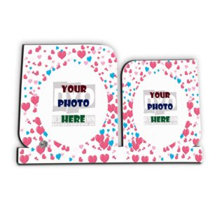 Personalized Wedding Day Wooden Sheet Photo Frame