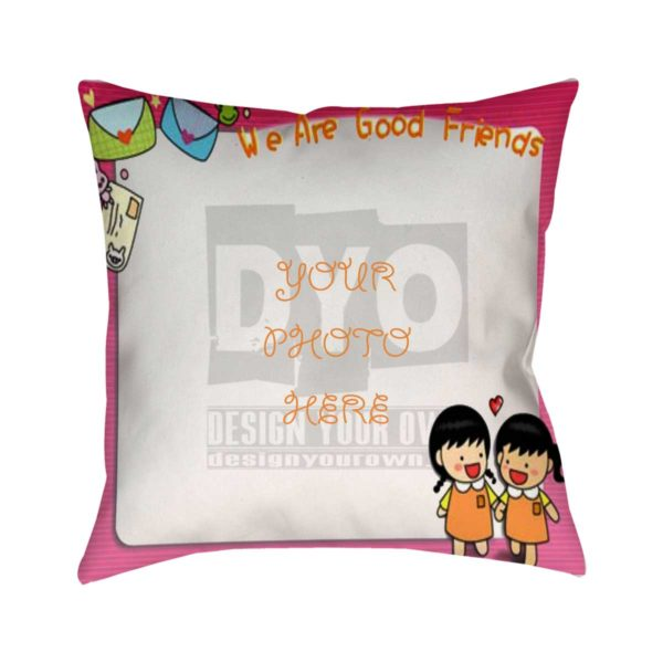 Design Your Own Best Friend Gift Cushion