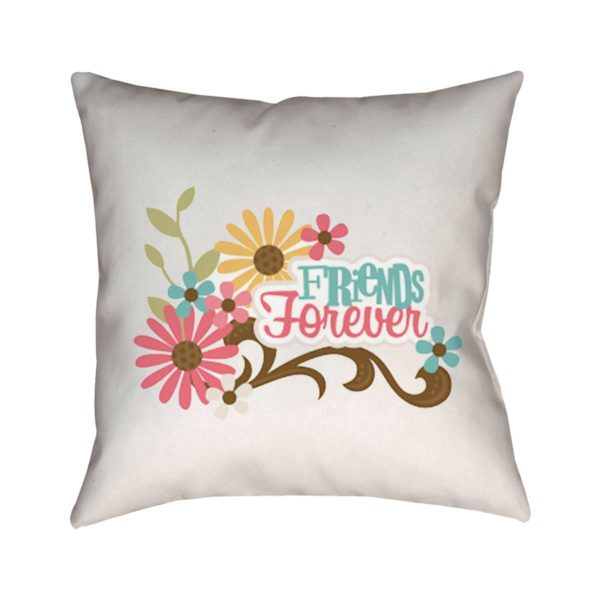 Friends For Ever Cushion