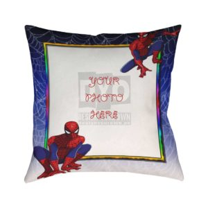 Design Your Own Spider Man Cushion for Kids
