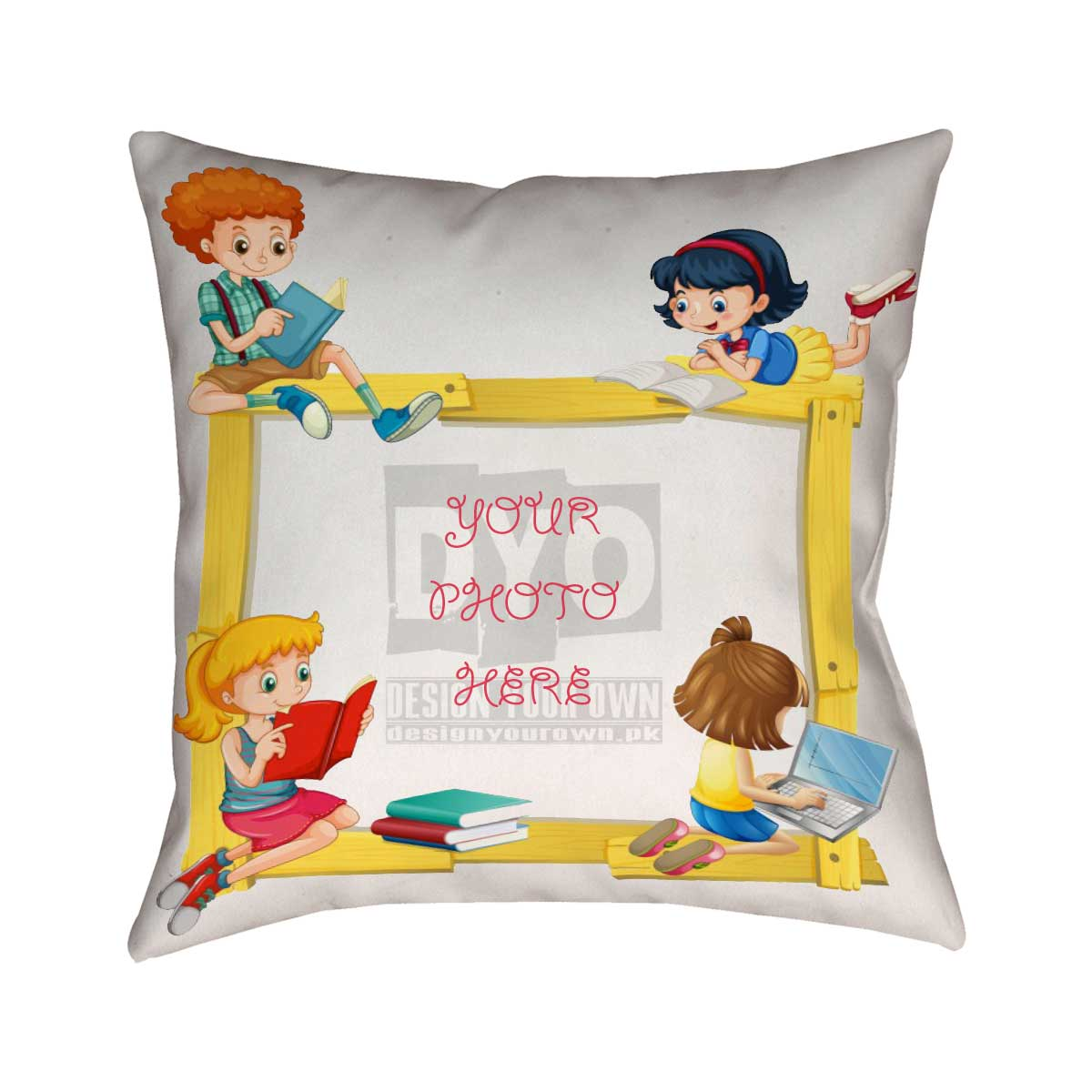 Study Time Cushion For Kids | Study Time Cushion - Design Your Own