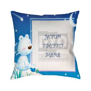 Design Your Own Smiling Bear Cushion For Kids