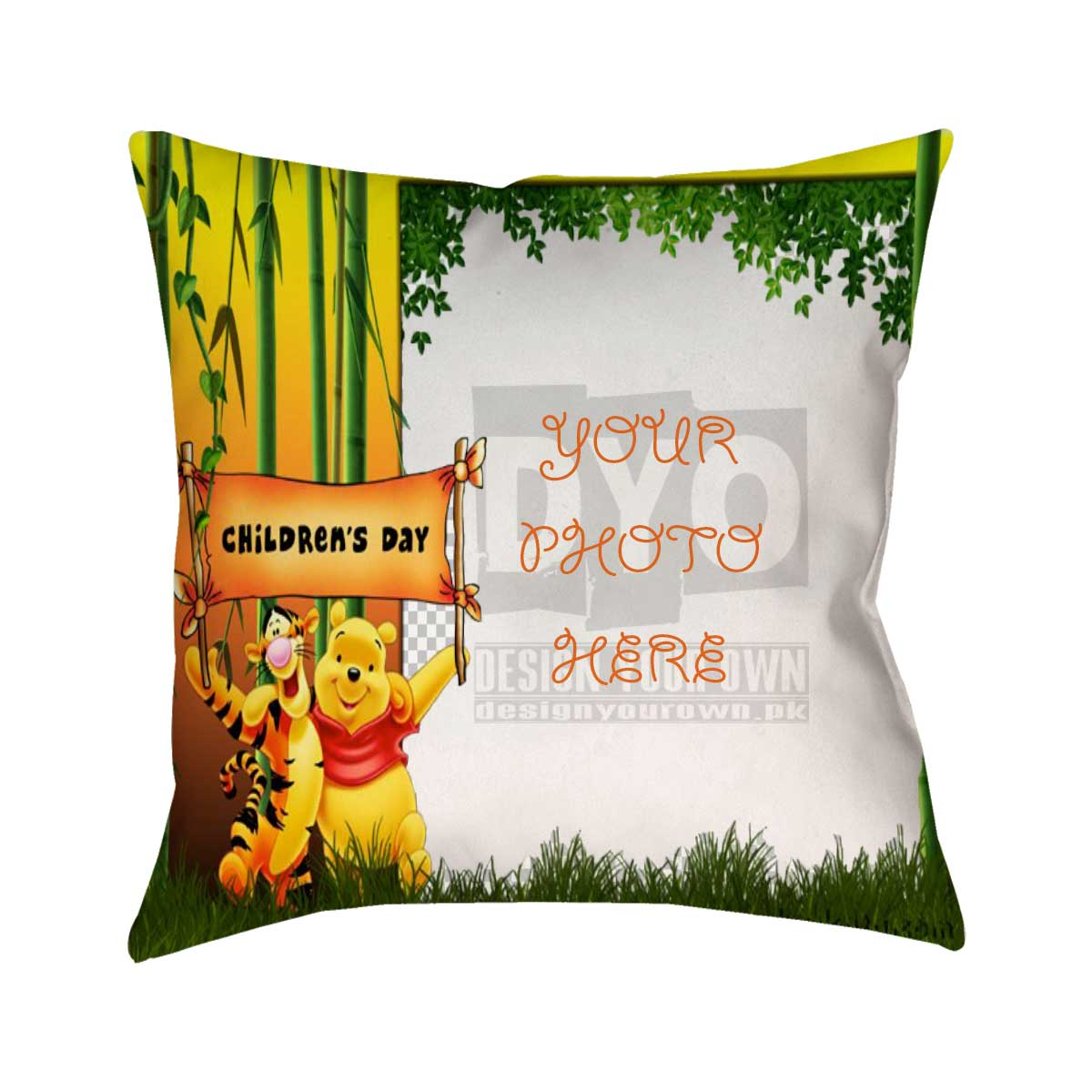 06b5aa58c98a Winnie the Pooh - Children s Day Gift Cushion - Design Your Own