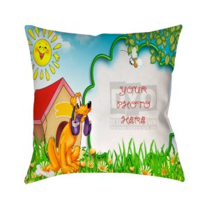 Design Your Own Cartoon Frame Gifts For Kids Cushion