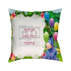 Design Your Own Balloons Gift For Kids Cushion