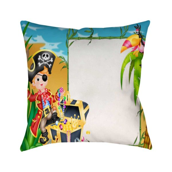 Design Your Own Pirate Gift For Kids Cushion