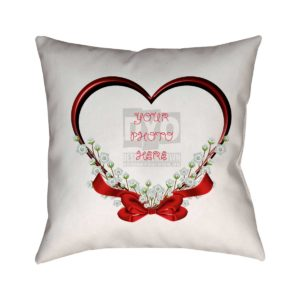 Custom Design Cushion for Valentine