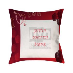 I Love You Valentine Gift Cushion