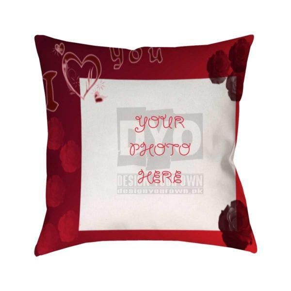 I Love You Valentine Gift Cushion