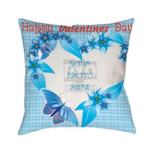 Happy Valentines Day Custom Gift Cushion