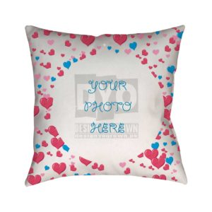 You Live In My Heart Custom Gift Cushion