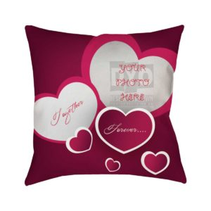 Together Forever Valentines Day Gift Cushion