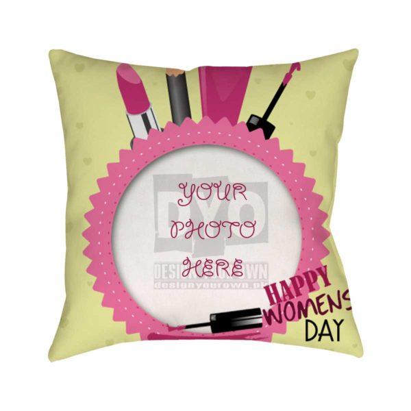 Happy Women's Day Gift Cushion
