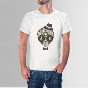 Wealthy Mind T Shirt White