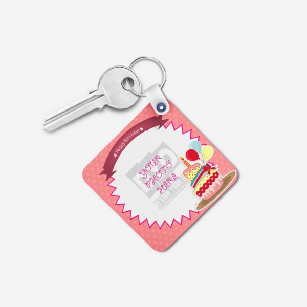 Happy Birthday Gift Personalized Key Chain