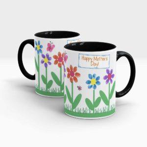 Mothers Day Gift Mug Black