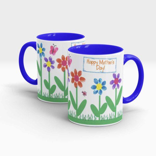 Mother Day Gift Mug Blue