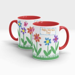 Mother Day Gift Mug Red