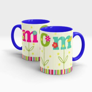 Mothers Day Gift Mug Blue
