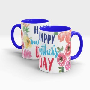 Mothers Day Gift Mug -blue