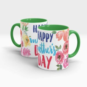 Mothers Day Gift Mug -green