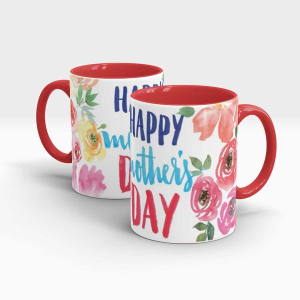 Mothers Day Gift Mug Red