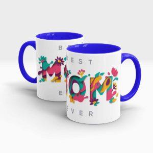 Mothers Day Gift Mug Blue