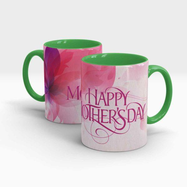 Mothers Day Gift Mug-Green