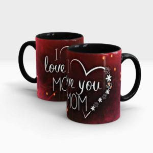 Mothers Day Gift Mug-Black