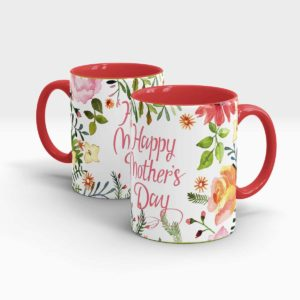Mothers Day Gift Mug-Red