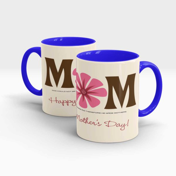 Mothers Day Gift Mug-Blue