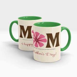 Mothers Day Gift Mug-Green